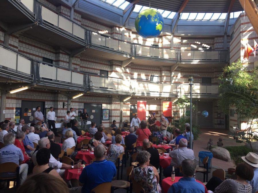 Sommerempfang SPD in der Oase der Europaschule
