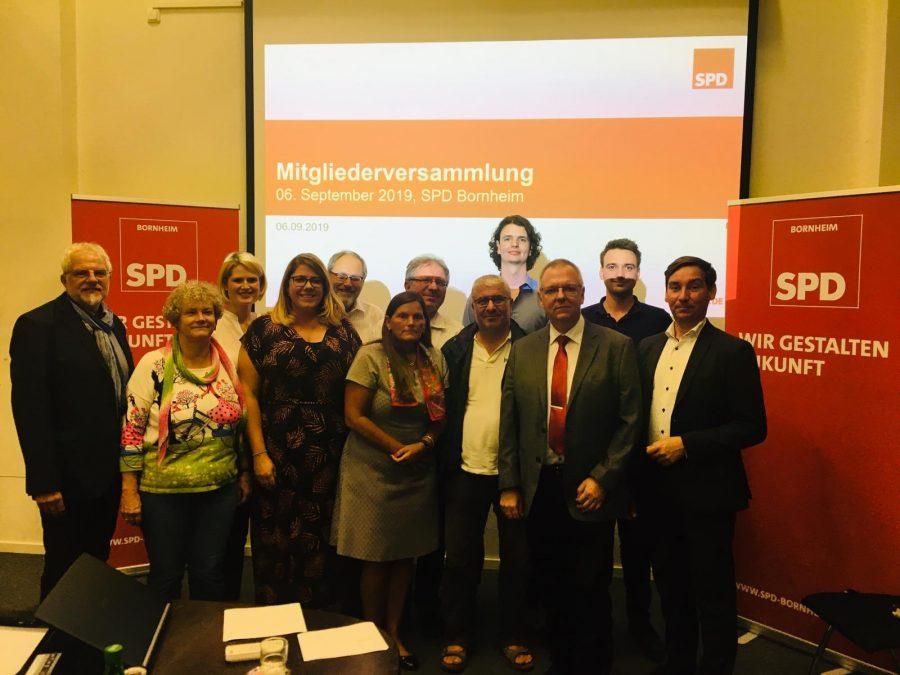 SPD Bornheim Vorstand