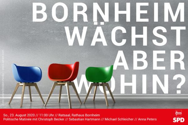 SPD Bornheim politische Matinée am 23. August 2020 mit Christoph Becker