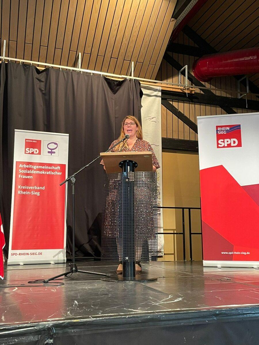 Anna Peters Kreisparteitag SPD Rhein Sieg